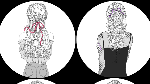 おしゃれ フリー アイコン フリーアイコンとして使える女の子のイラスト集【SNSや配信など】